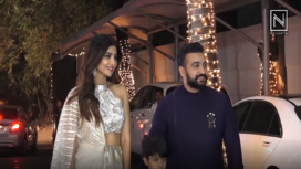 Bollywood Celebs in Attendance at Shilpa Shetty's Diwali Bash