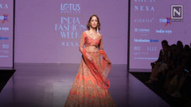 Yami Gautam Mesmerizes as WNW's Showstopper at Lotus Makeup India Fashion Week SS19