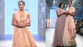 Alankrita Sahai Walks for Jyoti Sachdev at Bombay Times Fashion Week 2018