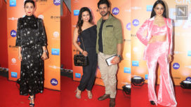Celebrities Attend the Premiere of Cirque du Soleil Bazzar in Style