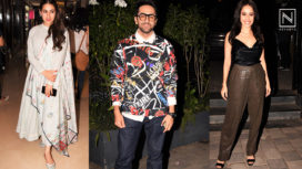 Kangana Ranaut, Nushrat Bharucha and Sara Ali Khan in This Week's Celeb Spotting