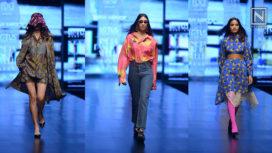 Dhruv Kapoor Showcases at Lotus Makeup India Fashion Week SS19