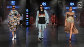 Huemn Showcases at Lotus Makeup India Fashion Week Spring Summer 2019