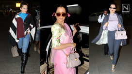 Here's How the Queen of Airport Looks, Kangana Ranaut has Been Slaying