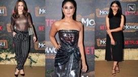 B-Town Celebrities Grace the World Premiere of Netflix's Mowgli in India