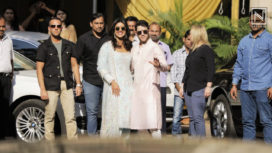 Priyanka Chopra and Nick Jonas Kick Off their Wedding Ceremonies with a Puja