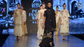 Sone Ki Chidiya by Pratima Pandey at Lotus Makeup India Fashion Week Spring Summer 2019