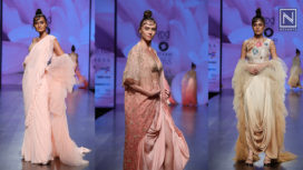 Siyaahi by Poonam and Rohit at Lotus Makeup India Fashion Week Spring Summer 2019