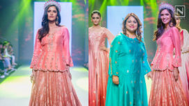 Vartika Singh Turns Showstopper for Versha Sethi at Bombay Times Fashion Week 2018