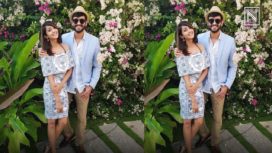 Here is What Aindrita Ray and Diganth Manchale Will be Wearing for their Wedding Today