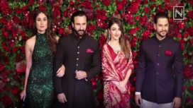 Blacks Rule DeepVeer Mumbai Reception