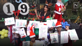Divas Aishwarya and Chitrangada Celebrate Christmas with Destitute Children