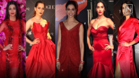 Paint the Town Red this Christmas Just Like these Bollywood Divas