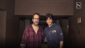 Shahrukh Khan at the Screening for Zero