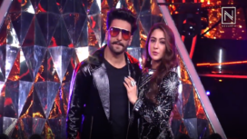 Sara Ali Khan and Ranveer Singh Promote Simbaa at a Singing Reality Show
