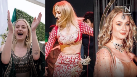 Sophie Turner Goes Desi for Priyanka Chopra and Nick Jonas' Wedding