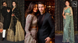 Bollywood Celebrities Glam it Up at Priyanka Chopra and Nick Jonas's Wedding Reception