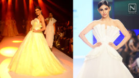 Designers and their Showstoppers - Sushmita Sen and Mouni Roy