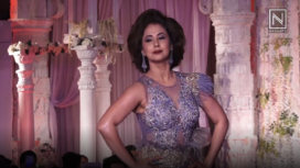 Urmila Matondkar Turns Muse to Rohit Verma at a Fashion Showcase