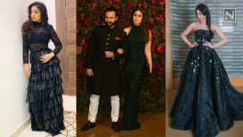 Your Favourite Celebrities Rocking Black Outfits at DeepVeer Wedding Festivities