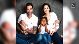 Daniel Weber 'Accidently' Bumps Into His Wife Sunny Leone