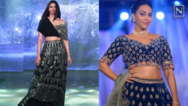 Designers and their Showstoppers - Daisy Shah and Swara Bhasker