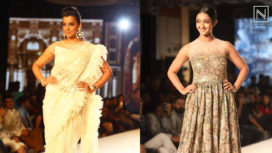 Designers and their Showstoppers - Mugdha Godse and Aindrita Ray