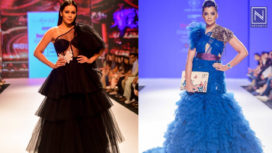 Designers and their Showstoppers - Waluscha De Sousa and Mugdha Godse