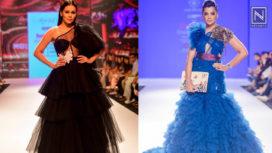 Designers and their Showstoppers - Waluscha De Sousa and Mugdha Godse