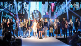 F Gear Showcases a Collection Full of Stylish Bags at Bangalore Times Fashion Week 2018