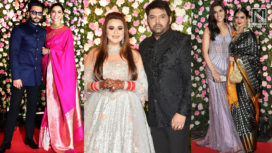 Kapil Sharma and Ginni Chatrath Throw a Star Studded Wedding Reception