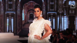 Mugdha Godse Walks for Govind Kumar Singh at Bangalore Times Fashion Week 2018