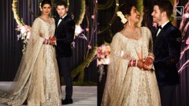 Priyanka Chopra and Nick Jonas Host their First Wedding Reception in Delhi
