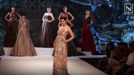 Aindrita Ray Turns Muse to Rocky S at Bangalore Times Fashion Week 2018