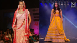 Watch Saina Nehwal in Bridal Looks on Ramp