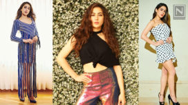 Sara Ali Khan Takes her Fashion Game a Notch Higher for Simmba's Promotions