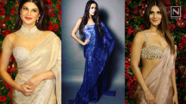 Bollywood Beauties Who Sported Scintillating Saris at DeepVeer Reception
