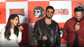 Ranveer Singh and Sara Ali Khan Show their Excitement for Simmba