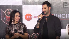 Sunny Leone Turns Heads at her New Song Launch with Other Celebs