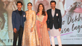 Team Ek Ladki Ko Dekha Toh Aisa Laga at the Second Trailer Launch of the Movie