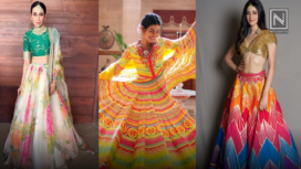 Celebrate the Festive Season with these Five Gorgeous Lehengas