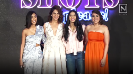 Sayani Gupta, Bani J at the Trailer Launch of Four More Shots Please