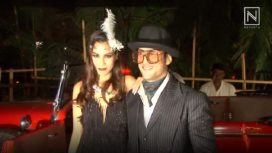 Prateik Babbar and Sanya Sagar's Gatsby Theme Reception Party