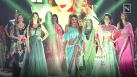 TV Actors Walk the Ramp for Anu Ranjan's Be With Beti Fashion Show
