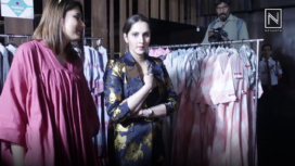 Sania Mirza Attends Her Sister's Exhibition in Bengaluru