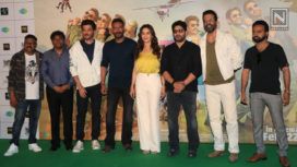 Madhuri Dixit, Anil Kapoor and Ajay Devgn Launch Total Dhamaal Trailer