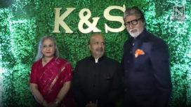Bollywood Celebs at Sameer Anjaan's Daughter Suchita's Wedding