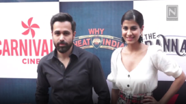 Emraan Hashmi and Shreya Dhanwanthary Promote Why Cheat India