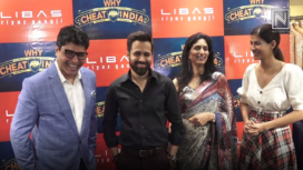 Emraan Hashmi and Shreya Dhanwanthary Visit Libaz Store Ahead of Why Cheat India Release