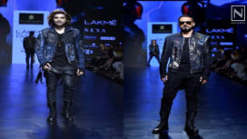 Gurmeet Choudhary and Nikhil Chinapa Walk for Asa Kazingmei at LFW SR19